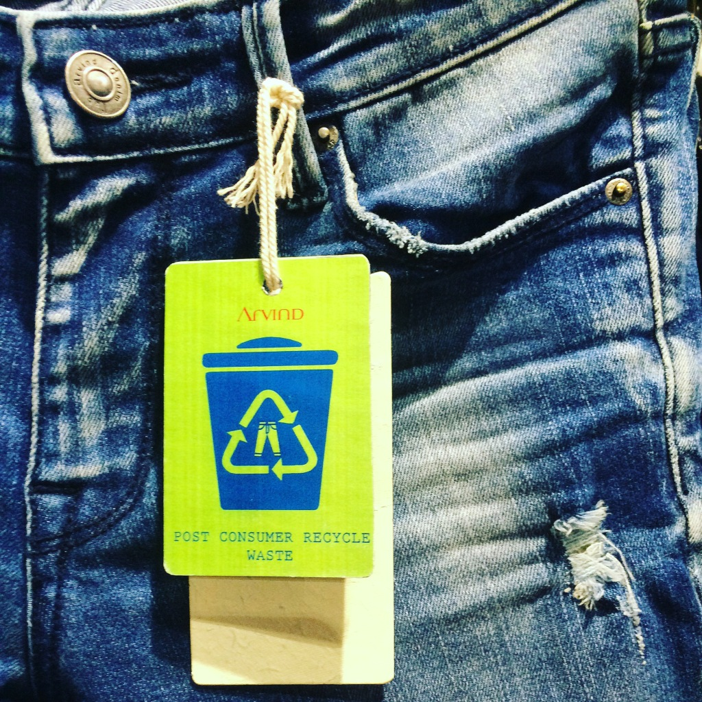 PCW Cotton Denim recycling at Arvind Mills India