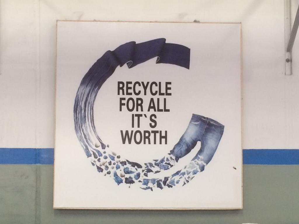 PCW Cotton Denim recycling at Artistic Fabric Garment Industries Pakistan