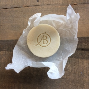 AB jojoba and organic cider vinegar shampoo bar