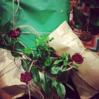 Upcycle gift wrapping