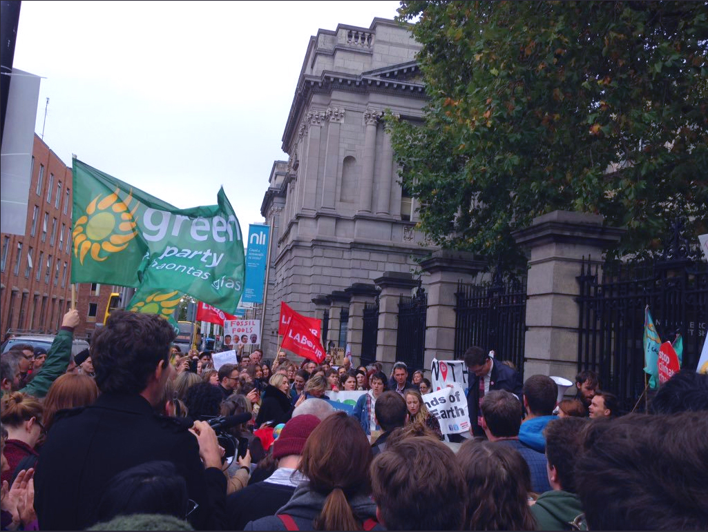 climate action now protest