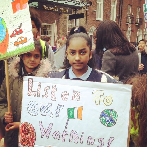 climate action now protest schools strike for climate