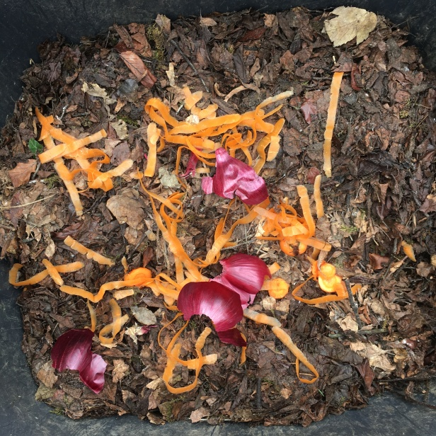 Vegetable compost Compost layers