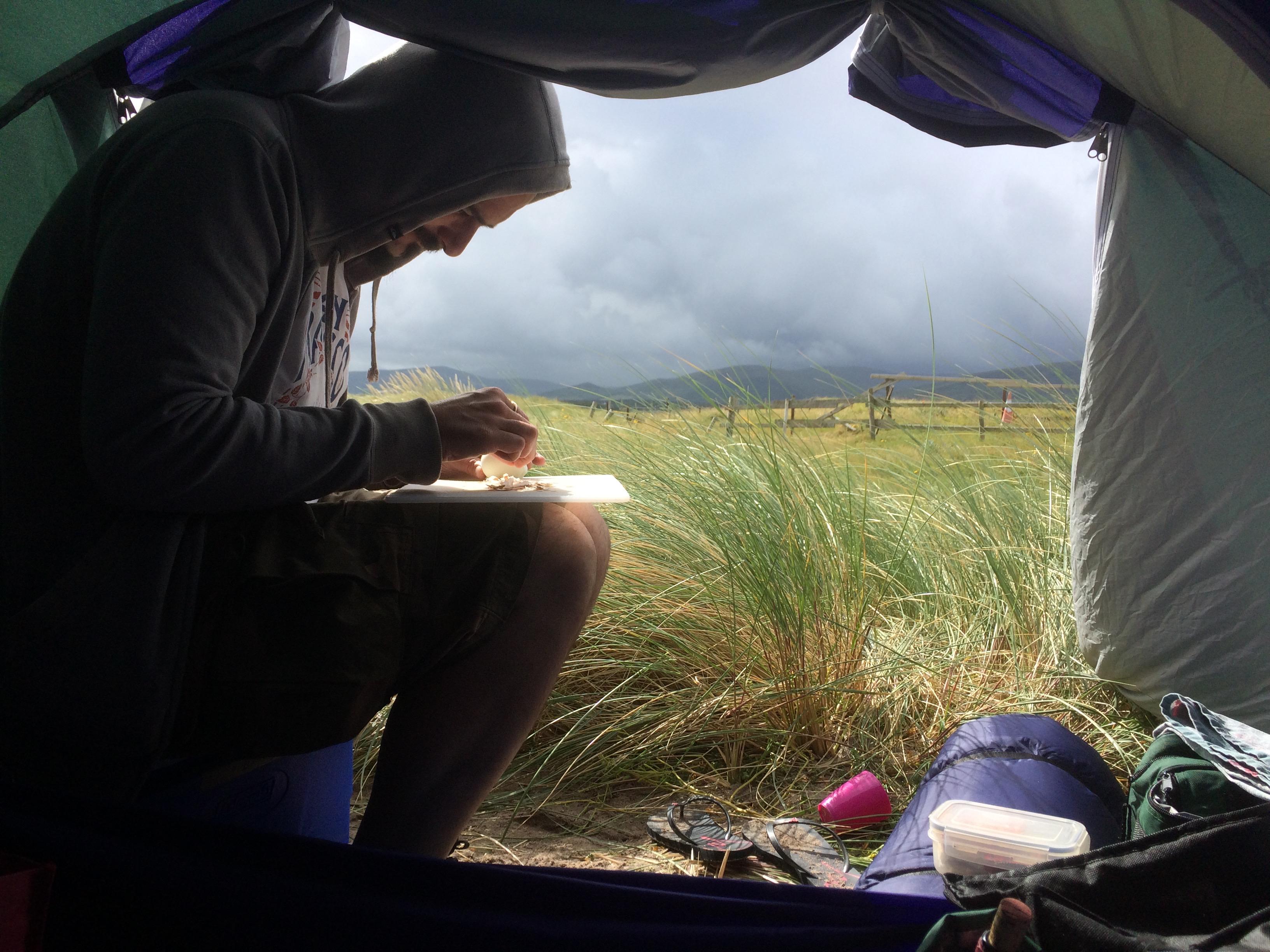Awnings - Charles Camping