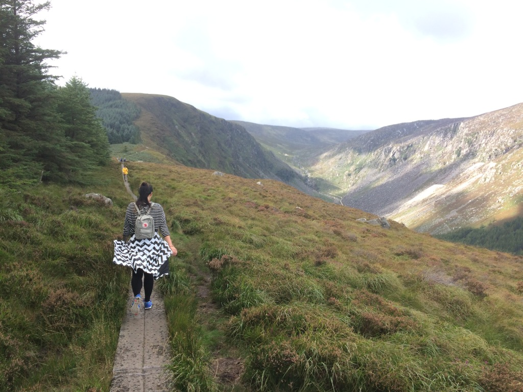 forest national parks Ireland Wicklow mountains Glendalough